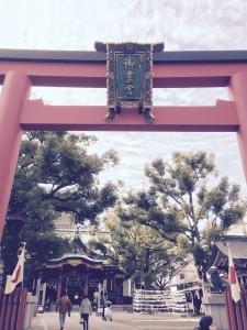 「ごりょう」神社です。
