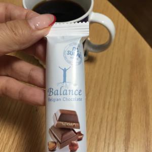珈琲と砂糖不使用チョコ